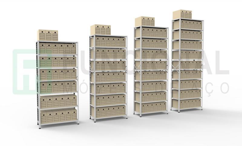Fábrica de estantes de aço