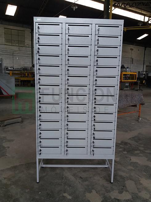 Armário de aço caixa postal