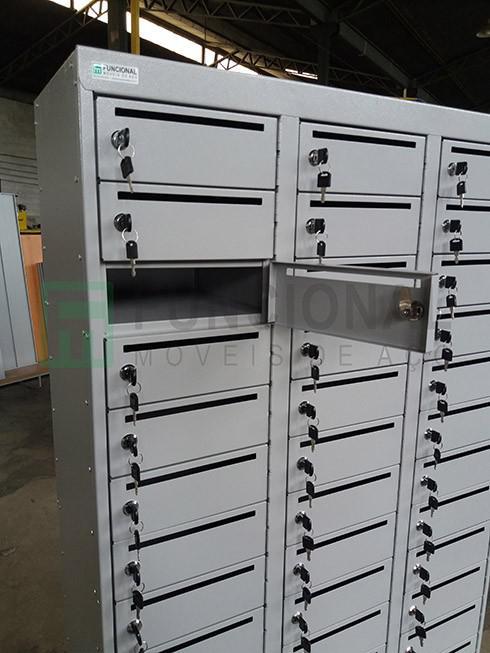 Armário caixa postal preço