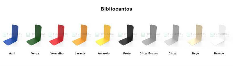 Fabricante de bibliocanto em aço