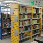 Moveis para biblioteca em aço
